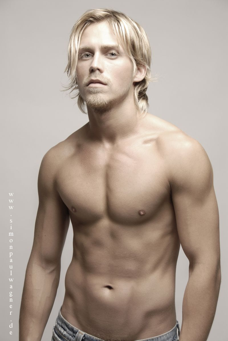 German Male Models | Simon Paul Wagner | Men with Long ...