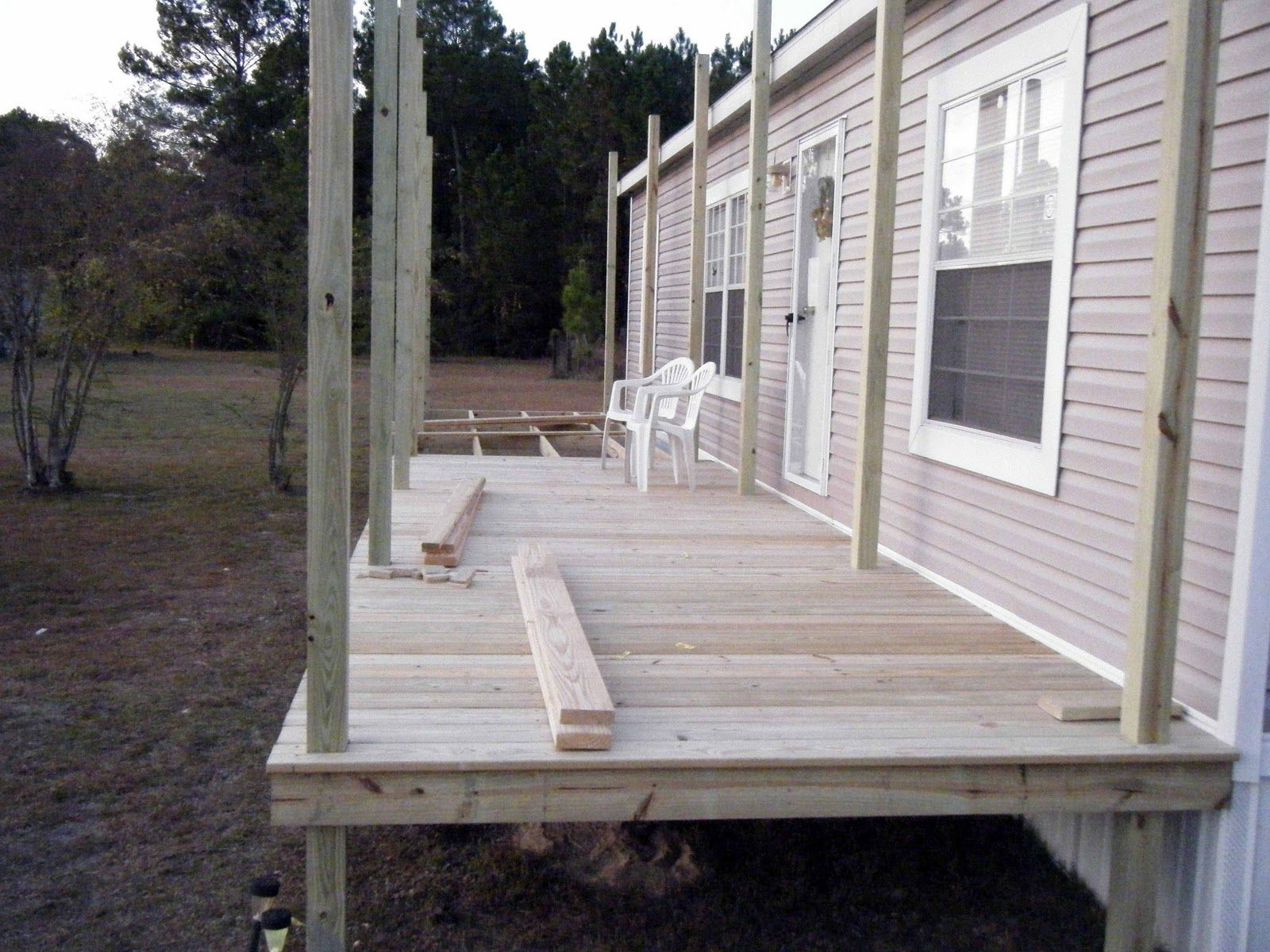 9 beautiful manufactured home porch ideas - Deckideen Fr Modulare Huser