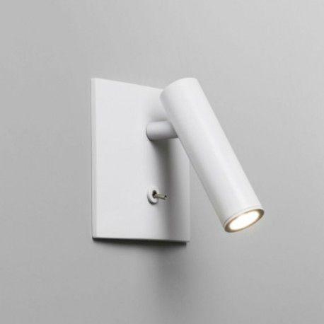 Applique encastrable Applique Enna carrée LED Blanc