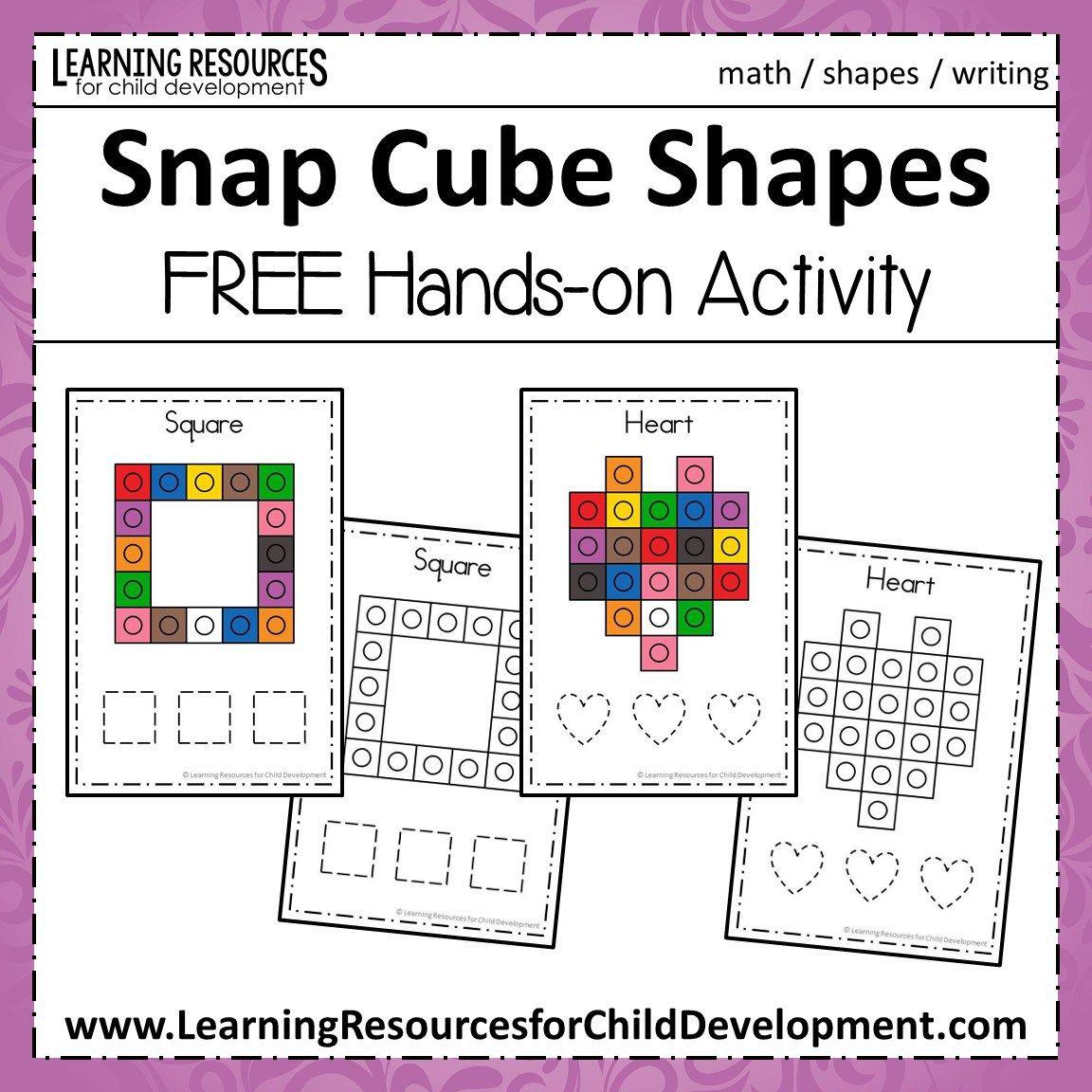 Snap Cube Shapes