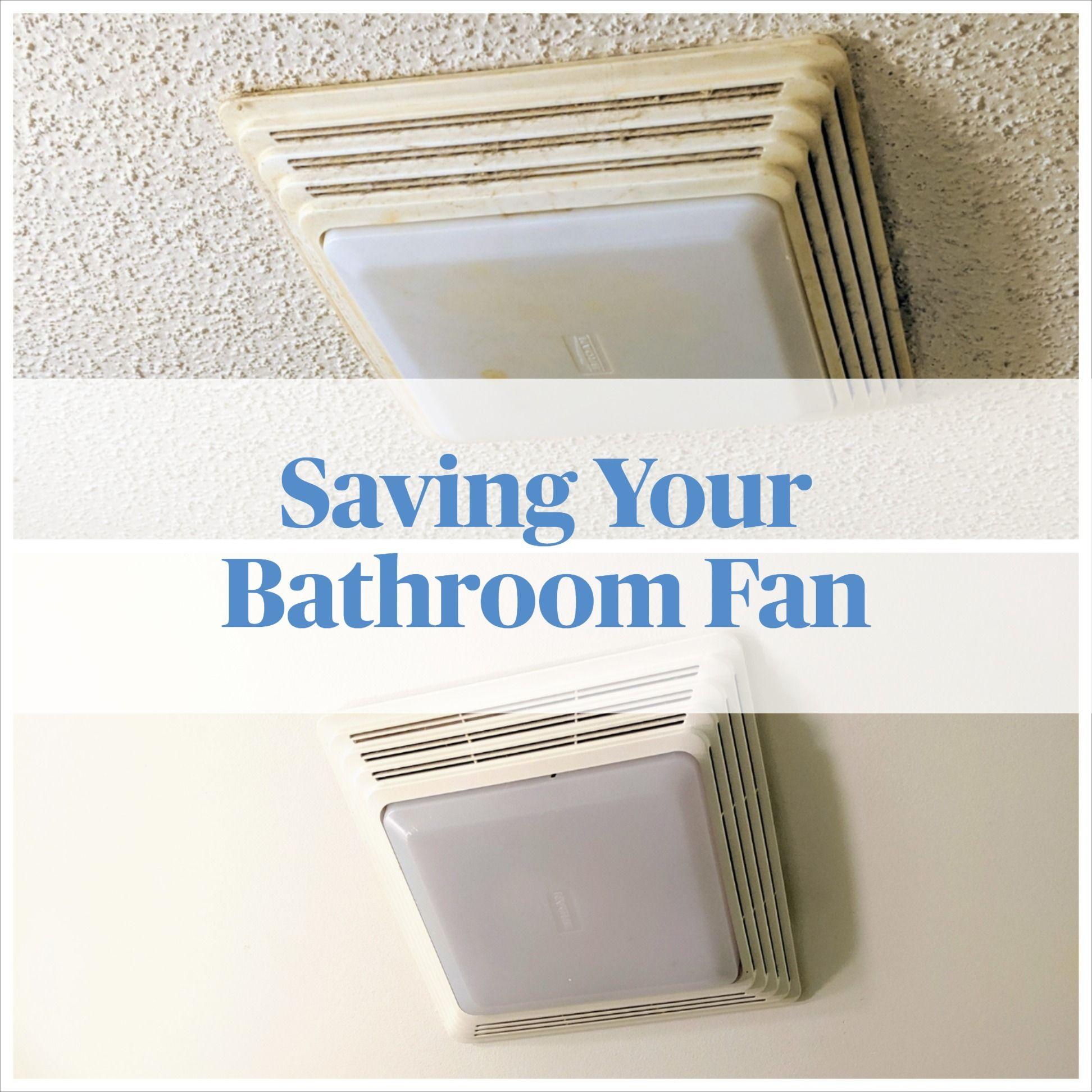 Saving Your Bathroom Fan Bathroom Fan Bathroom Vent Fan Bathroom Fan Light