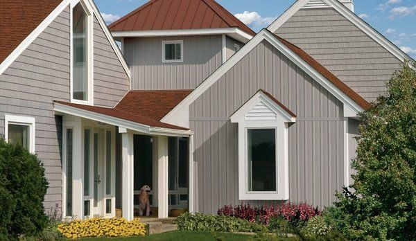 Board And Batten Vinyl Siding Pros Cons Siding Colors For Houses Red Roof House House Siding