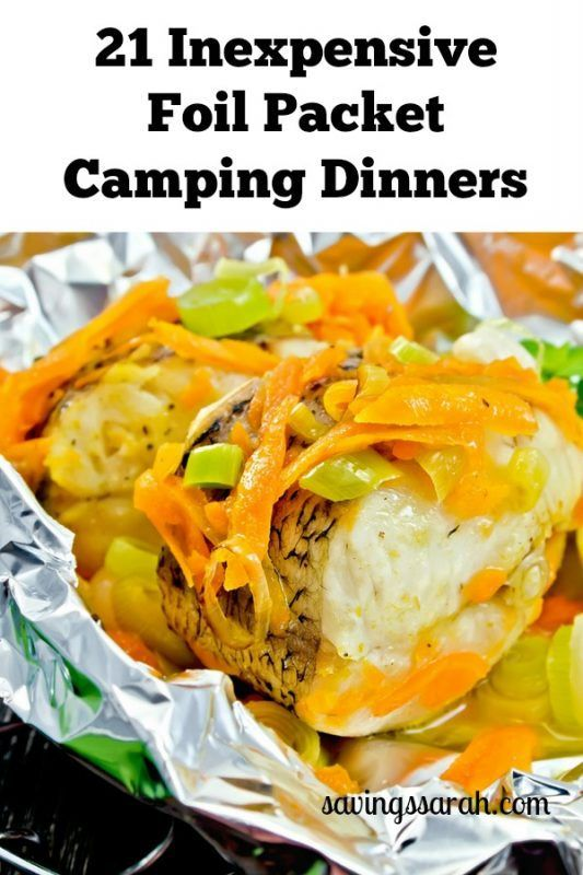 21 Inexpensive Foil Packet Camping Dinner Ideas images