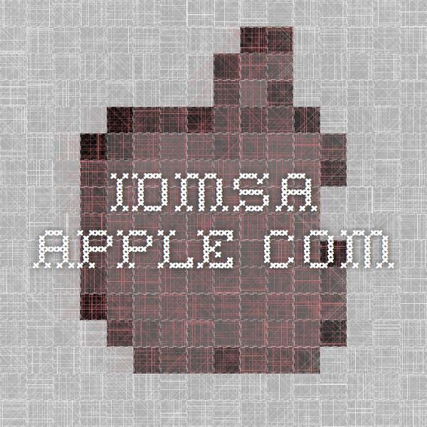 what is idmsa apple