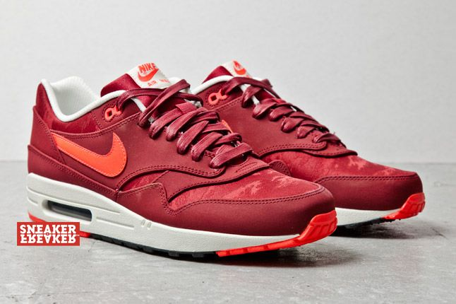 Red Team Premium Air Max Nike Jacquard 1 D9I2beHWEY