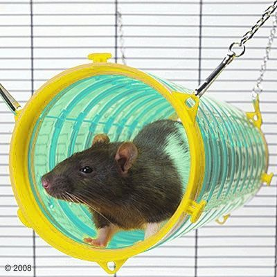 Savic Play Tunnel Giant Tube Play Tunnel Pet Cage Rat Toys