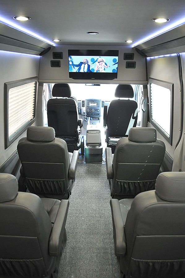 ADF Sprinters Family Travel Van