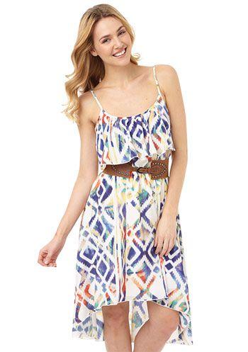 Noli Tribal Hi-Lo Dress