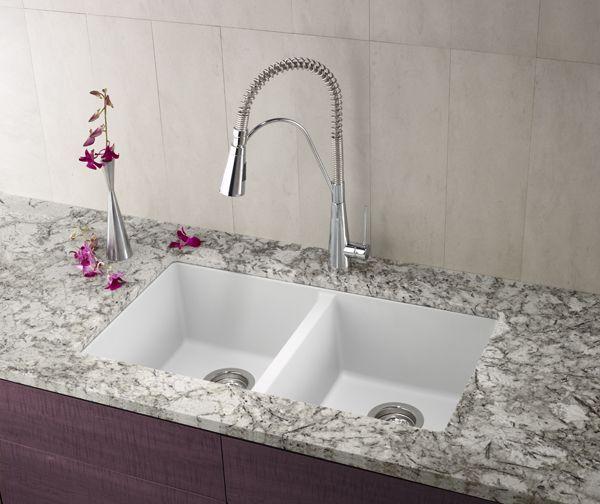 BLANCO PRECIS U 2 in Silgranit Silk Lupton Pinterest Sinks