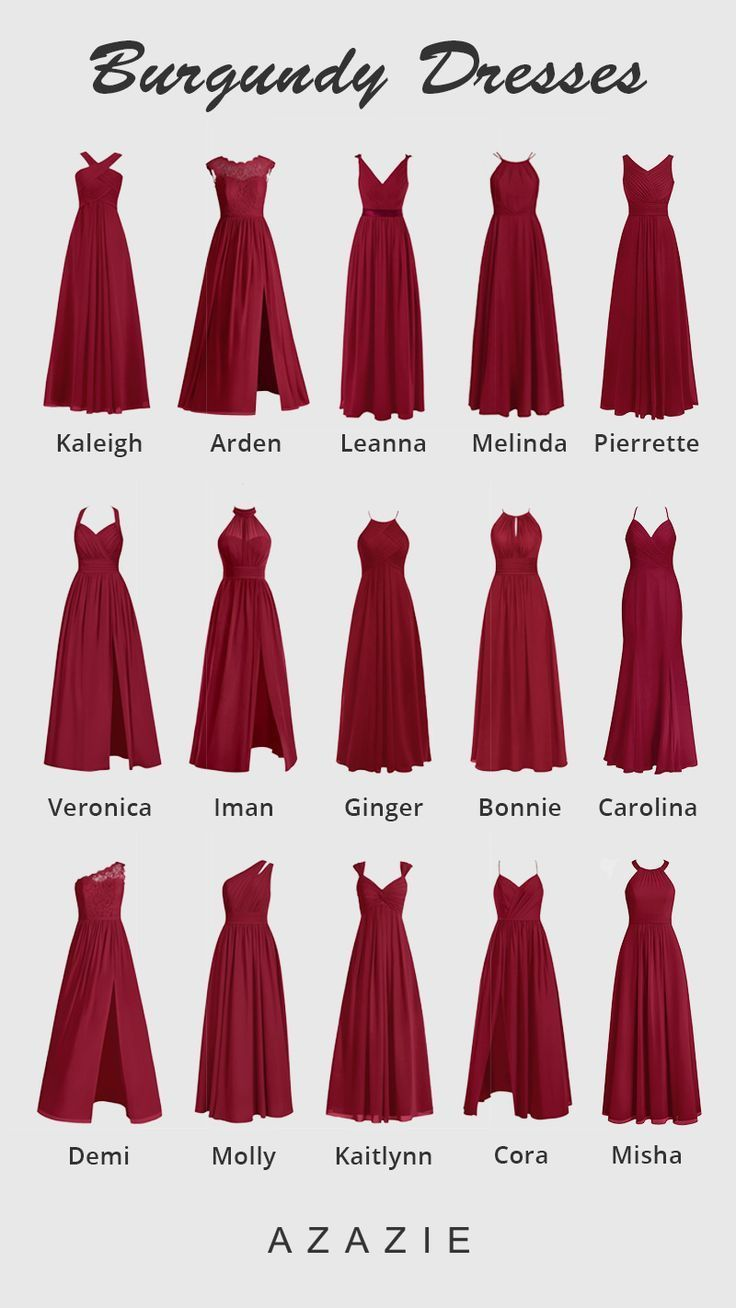 Photo of Burgunder Brautjungfernkleider-ad_1]Burgundy Bridesmaid Dr…