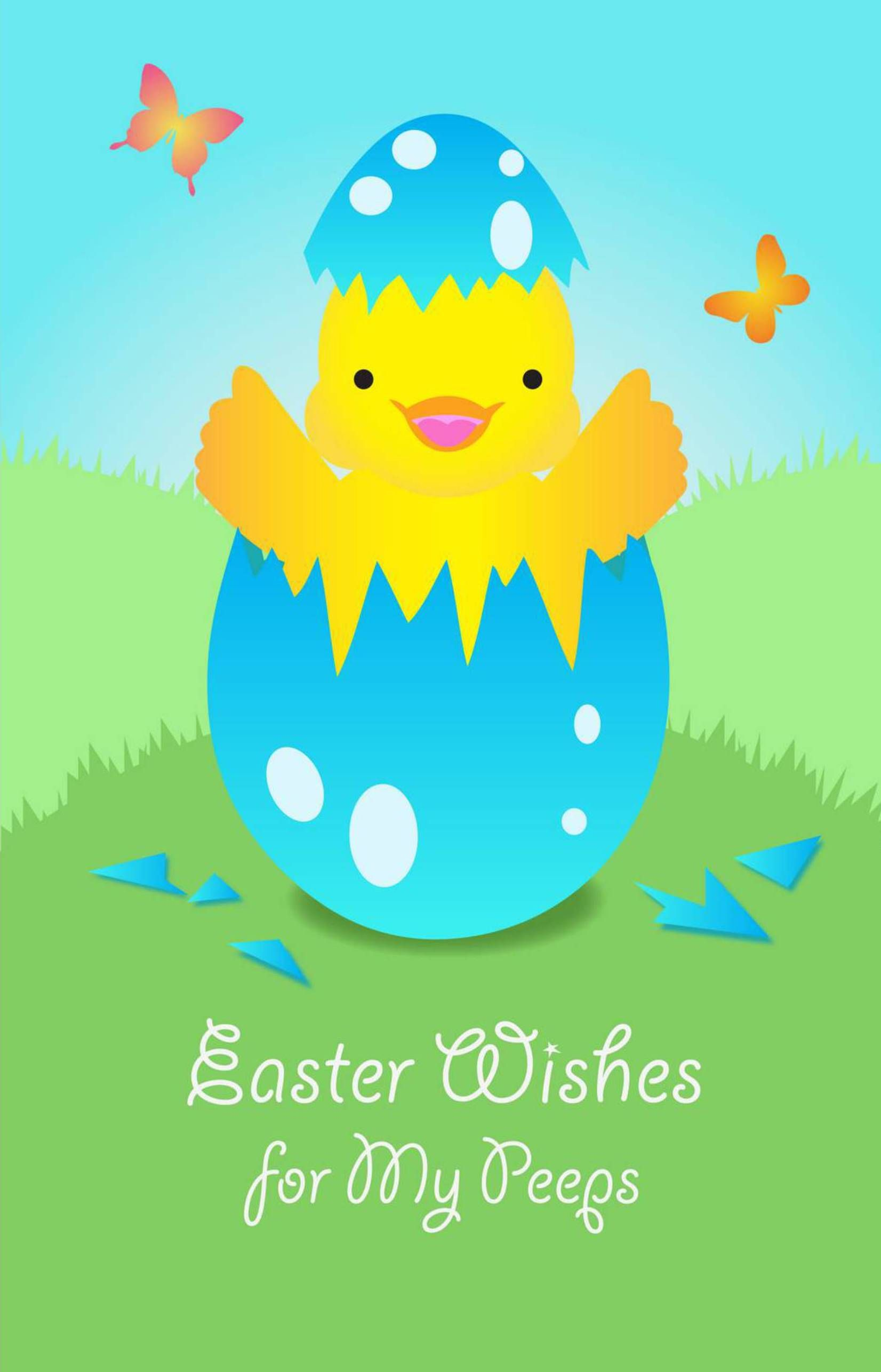 Easter Wishes For My Peeps Made Personal With Pixingo Design Your