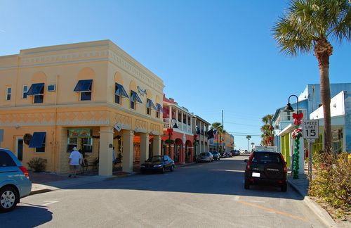 Historic 8th Avenue, Pass-a-Grille - the shortest, most beautiful Main Street in America.