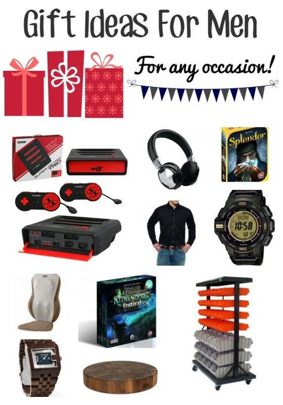 gift ideas for men or teenage boys for christmas - unique christmas fathers  day, birthday, or anniversary gifts for him. More ideas included on site  than ... - Holiday Gift Guide For Men Christmas Gift Ideas & Holiday Gift