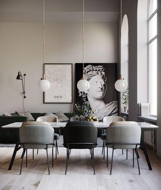Find more Interior design inspirations at www.the-privatelabel.com #luxuryfurniture #exclusivedesign #artsandcrafts #interiordesign #homeideas #HomeDecorGoals #inspirations #interiordesign #furnitureideas #BespokeDesign #Interiodesigner #diningtable #diningchair #luxury #luxuryliving #luxurylightingdesign #luxurylighting #lighting #lightingdesign #homeinterior #luxuryinteriordesign #homedesignideas #interiorarchitecture #interiorismo #diningroom