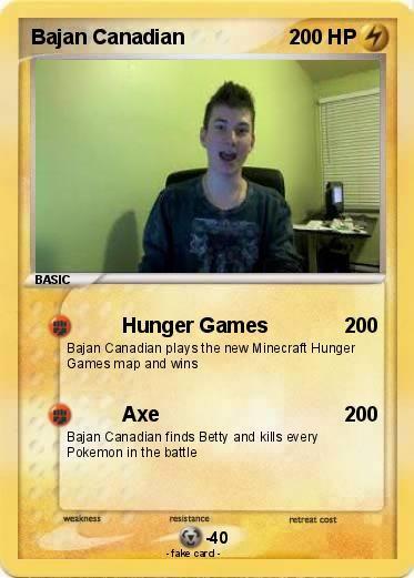 Pokémon Bajan Canadian 3 3 Hunger Games Pokemon Minecraft Youtubers Skydoesminecraft