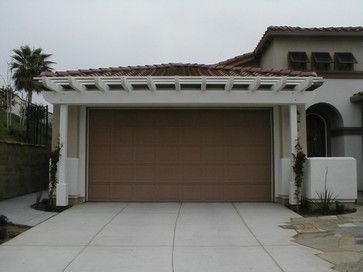 Exceptional Neat The Way The Sidewalk Spills Into The Driveway   Need Arbor Over My  Garage