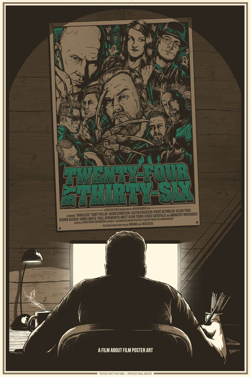 Twenty Four By Thirty Six By Matt Ryan Tobin With Images Film Posters Art Poster Art Film Art