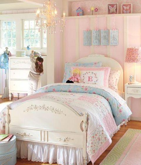 40 beautiful and cute shabby chic kids room designs digsdigs rh pinterest com