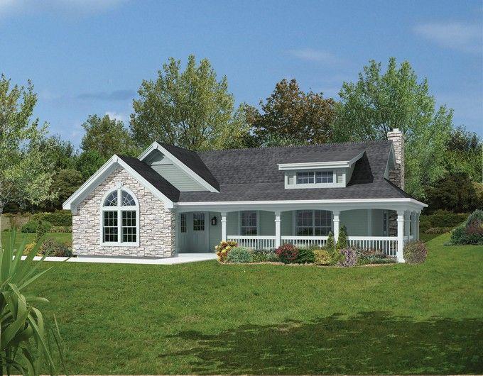 Farmhouse Style House Plan 2 Beds 1 Baths 801 Sq Ft Plan 57 340 Farmhouse Style House Plans Ranch Style House Plans Farmhouse Style House