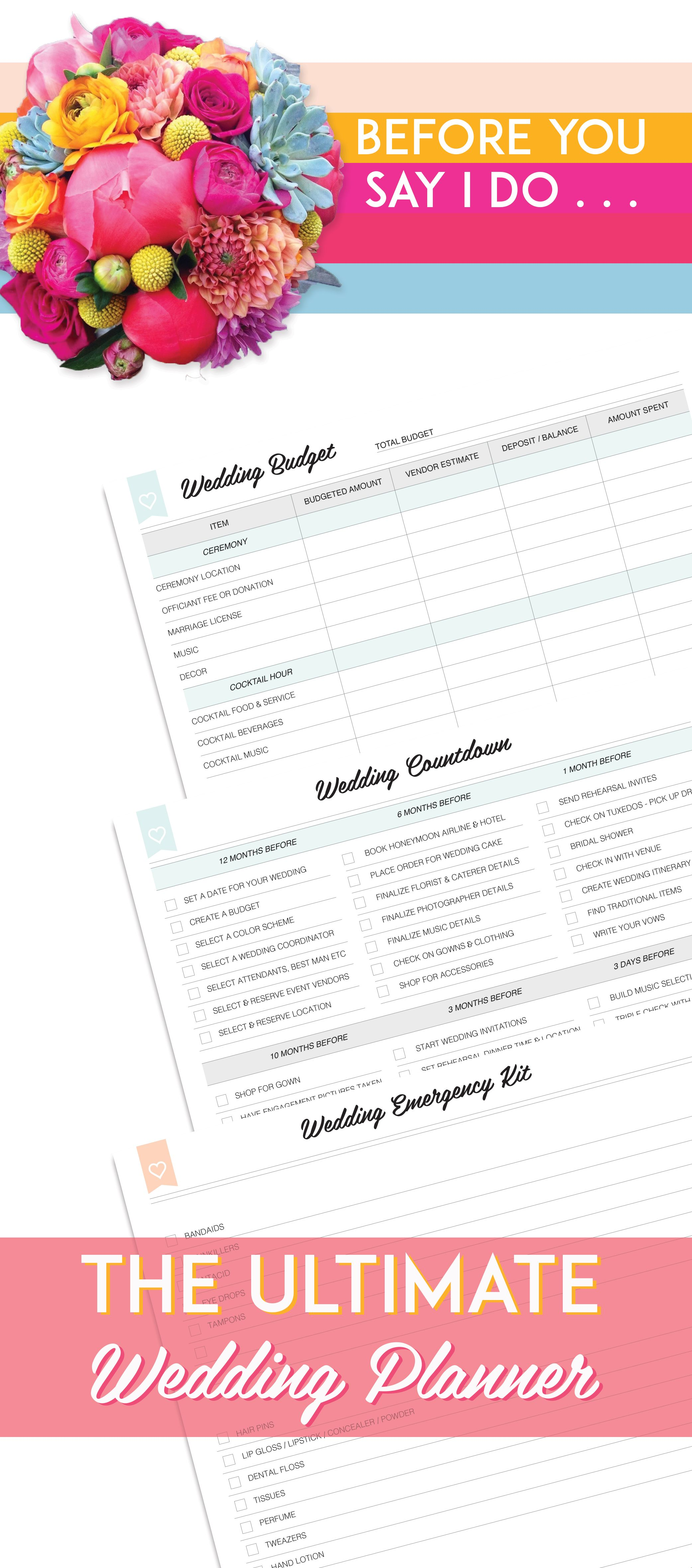 the ultimate wedding planner wedding planners planners and organizing