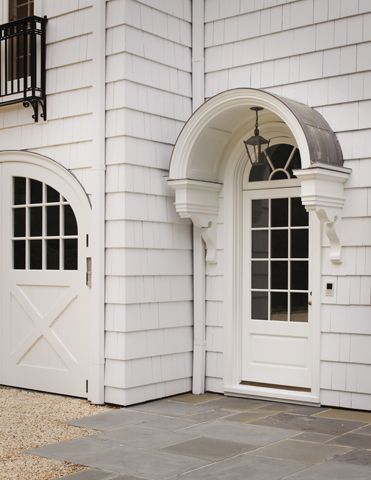 Classic Charm Beautiful Work And Details By Great Current Practicing Architects I Particularly Am Fond Of Arche Front Door Awning House Exterior Door Awnings