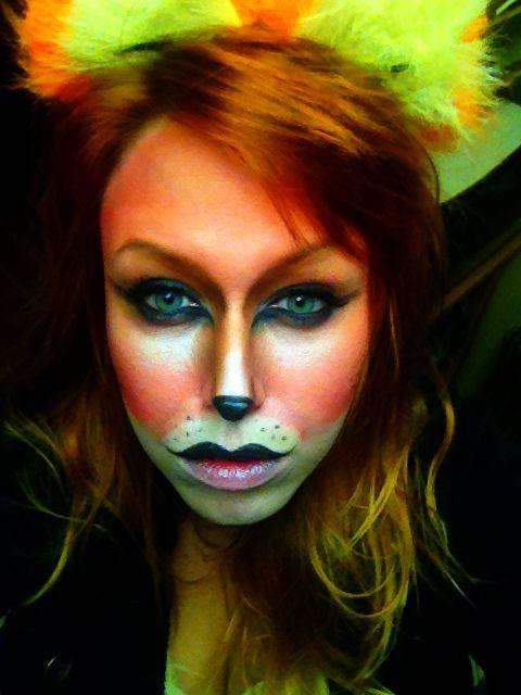 Fox Makeup Halloween On My Face Pinterest Fox Makeup Makeup - Fox-makeup