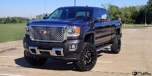 Gmc Denali Hd With Fuel 1 Piece Wheels Lethal D567 Gmc Denali
