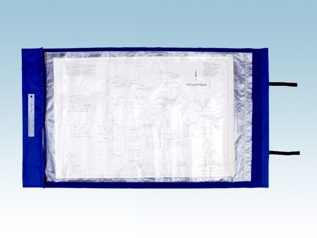 Materials Waterproof outdoor fabric outer, strip-lock poly document - new blueprint paper binding strips