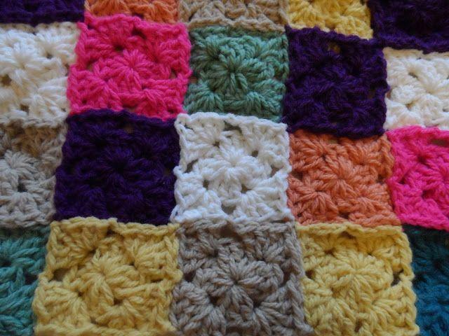 Little Squares Blanket.