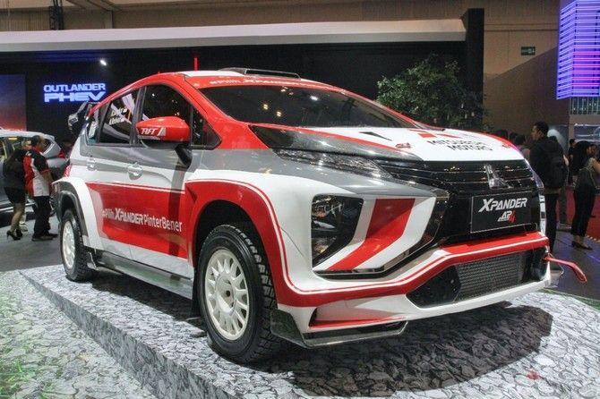 Mitsubishi Xpander Ap4 Mobil Mpv Pertama Di Dunia Untuk Balap Reli Mobil Mpv Mobil Mobil Keluarga