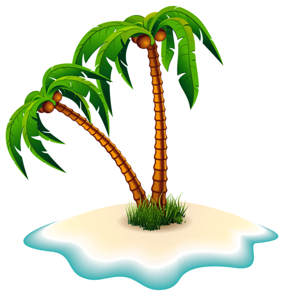 palm trees and island png clipart image draw pinterest clipart rh pinterest ca island clip art black and white island clipart png