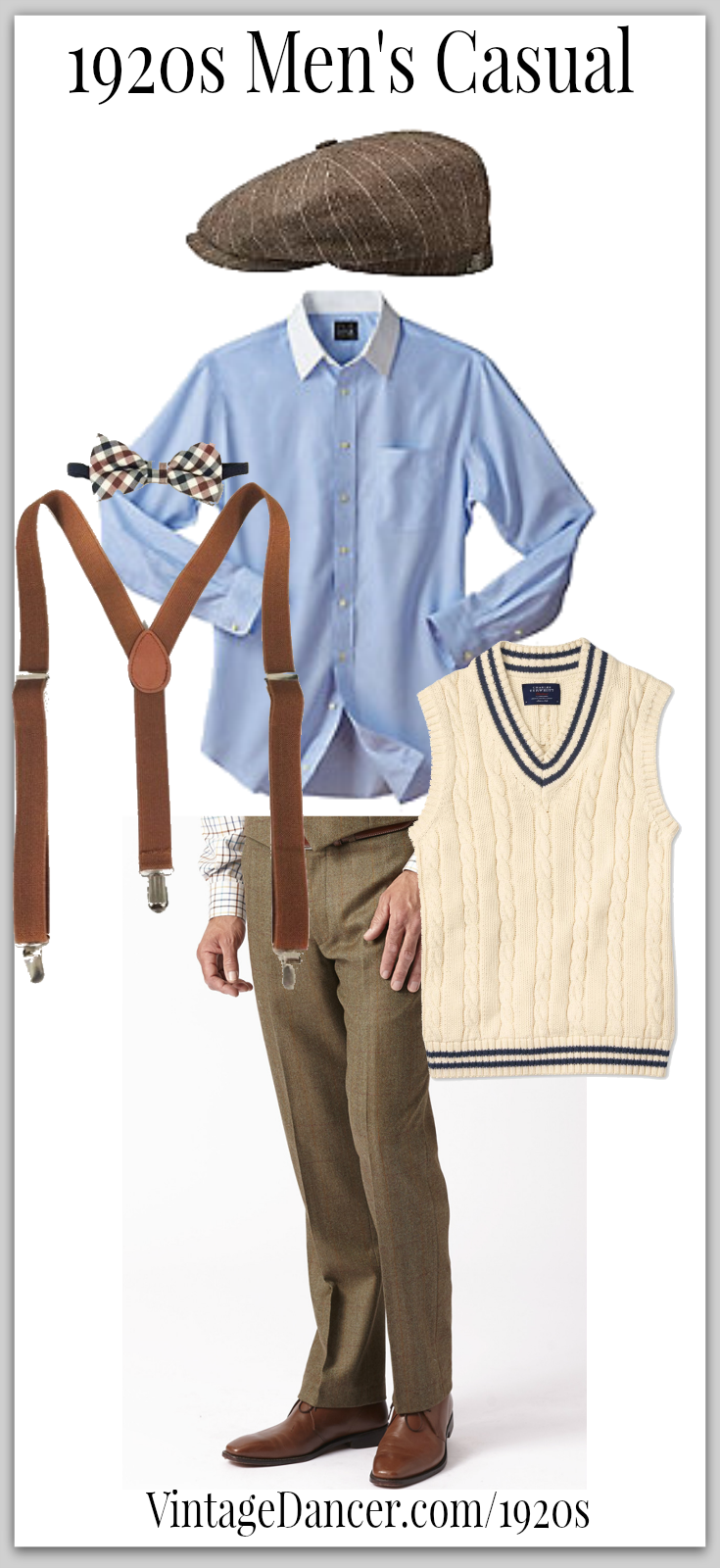 20s Style Clothing Men