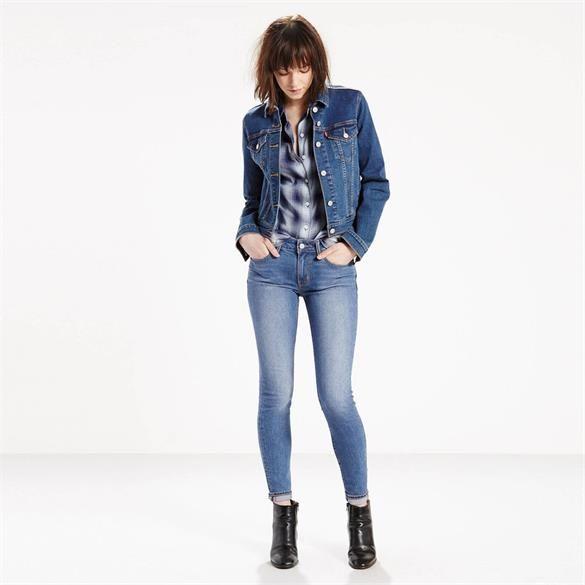 Levi's 711 Skinny Jeans, Pale Night