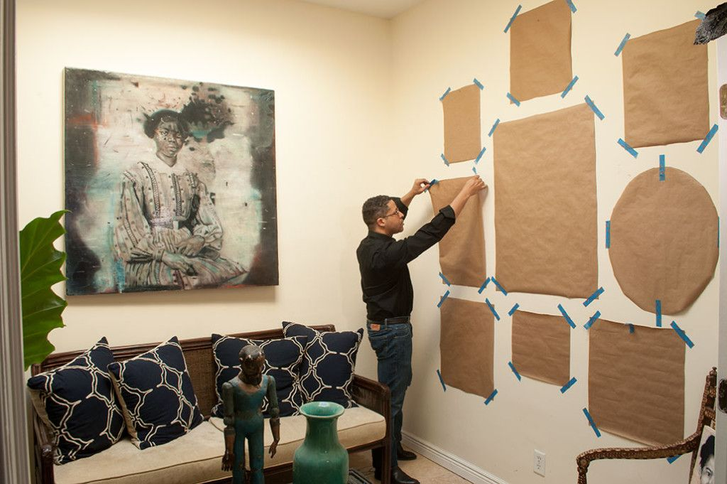 5 Tips for Hanging a Salon Style Wall by Raub Welch of Afro ...