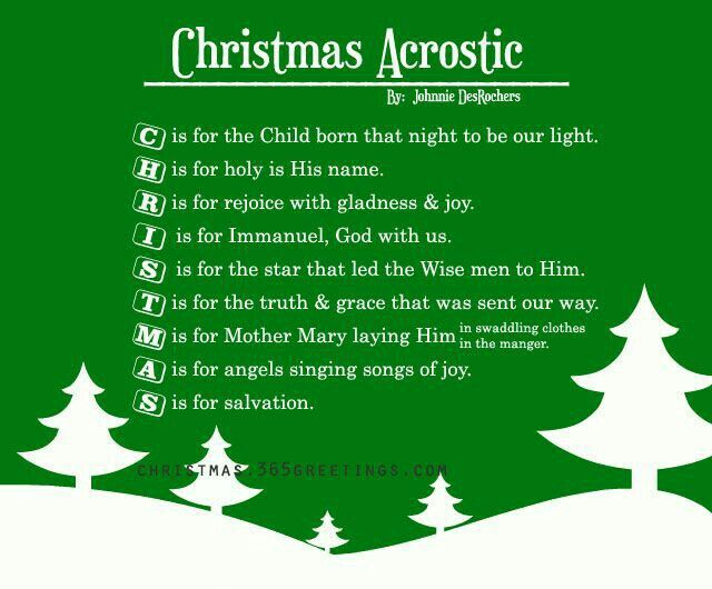 Christmas Program Ideas