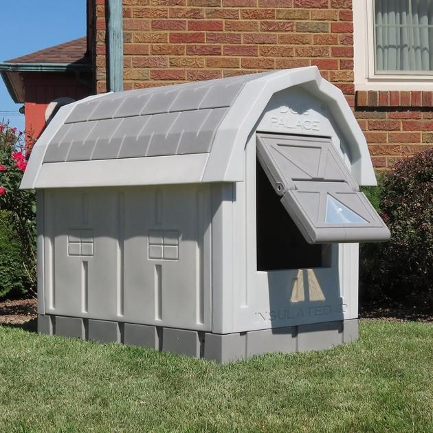 Insulated Dog House in 2020 | Insulated dog house, Outdoor ...