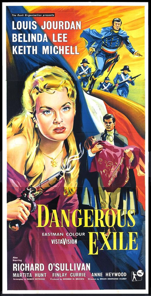 Dangerous Exile (1958) Stars: Louis Jourdan, Belinda Lee, Keith Michell, Richard O'Sullivan, Finlay Currie, Anne Heywood ~ Director: Brian Desmond Hurst