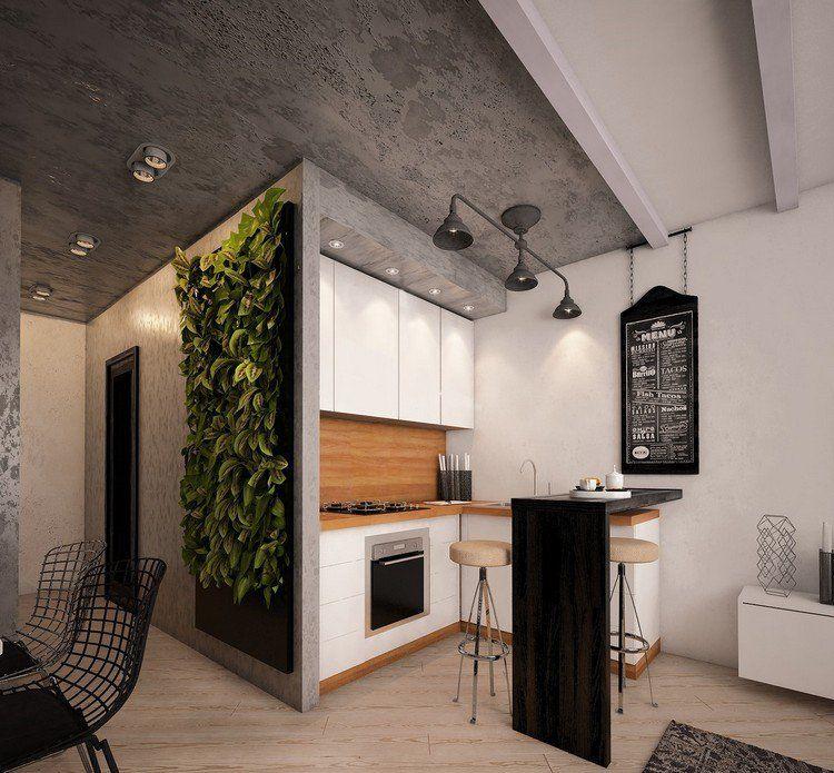 Déco cuisine ouverte sur salon en 18 propositions tendance Studio