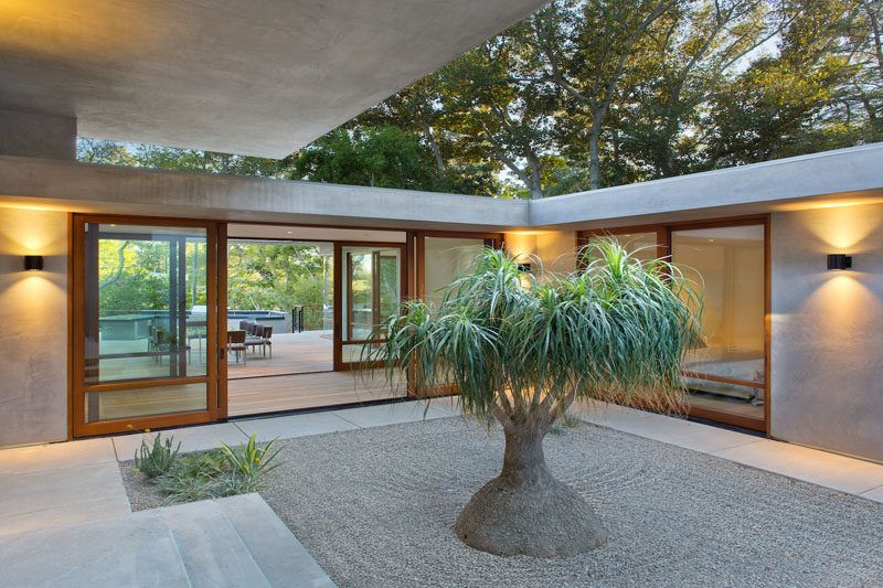 A contemporary redesign for this mid century modern home for Mid century modern la