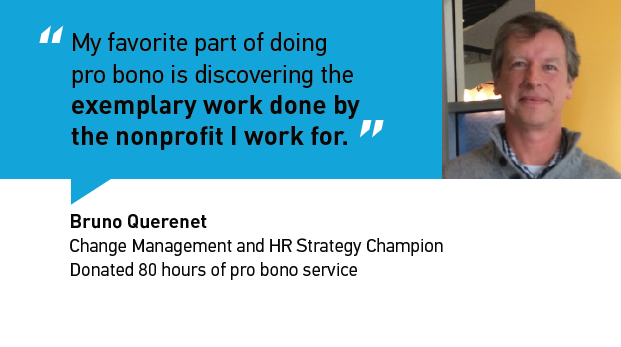 What was Bruno's unexpected outcome of doing pro bono service?  Find out here.
