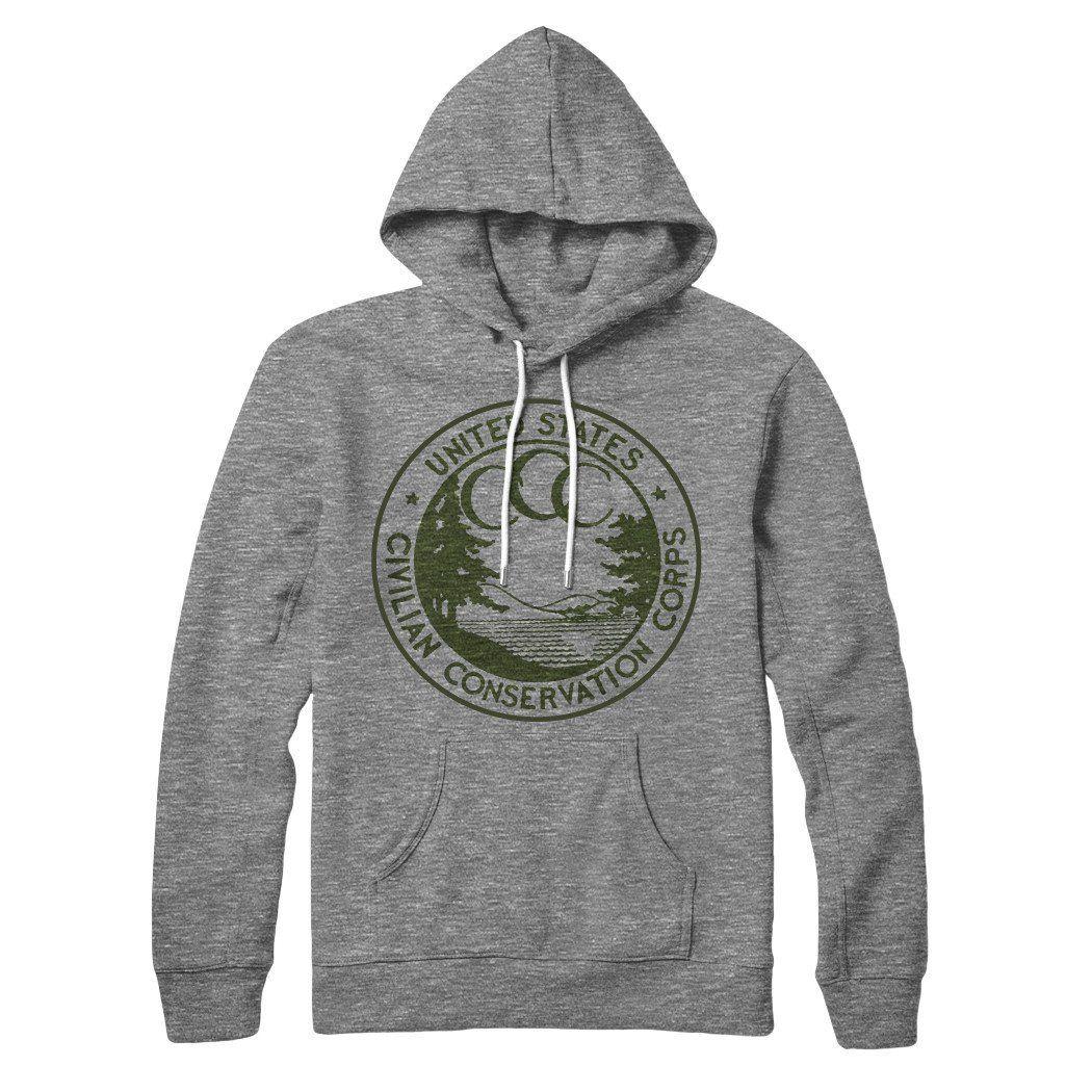 Conservation Corps Vintage Logo Hoodie Hoodies