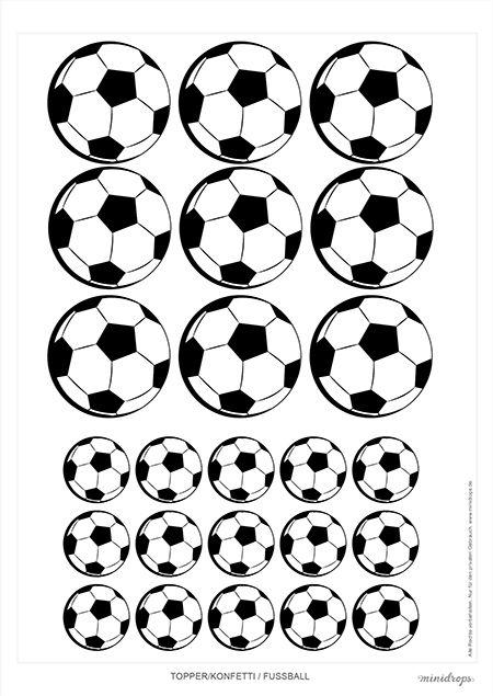Fußball Printables Kostenlos Zum Ausdrucken