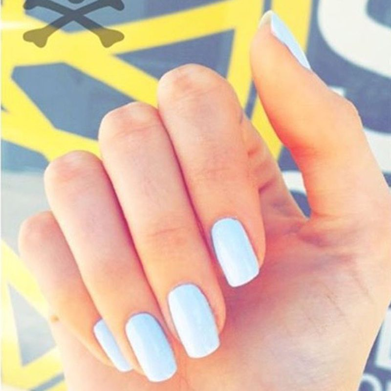 The Ultimate Guide To Nail Shapes Nail Shapes Squoval Squoval Nails Nail Shapes Square