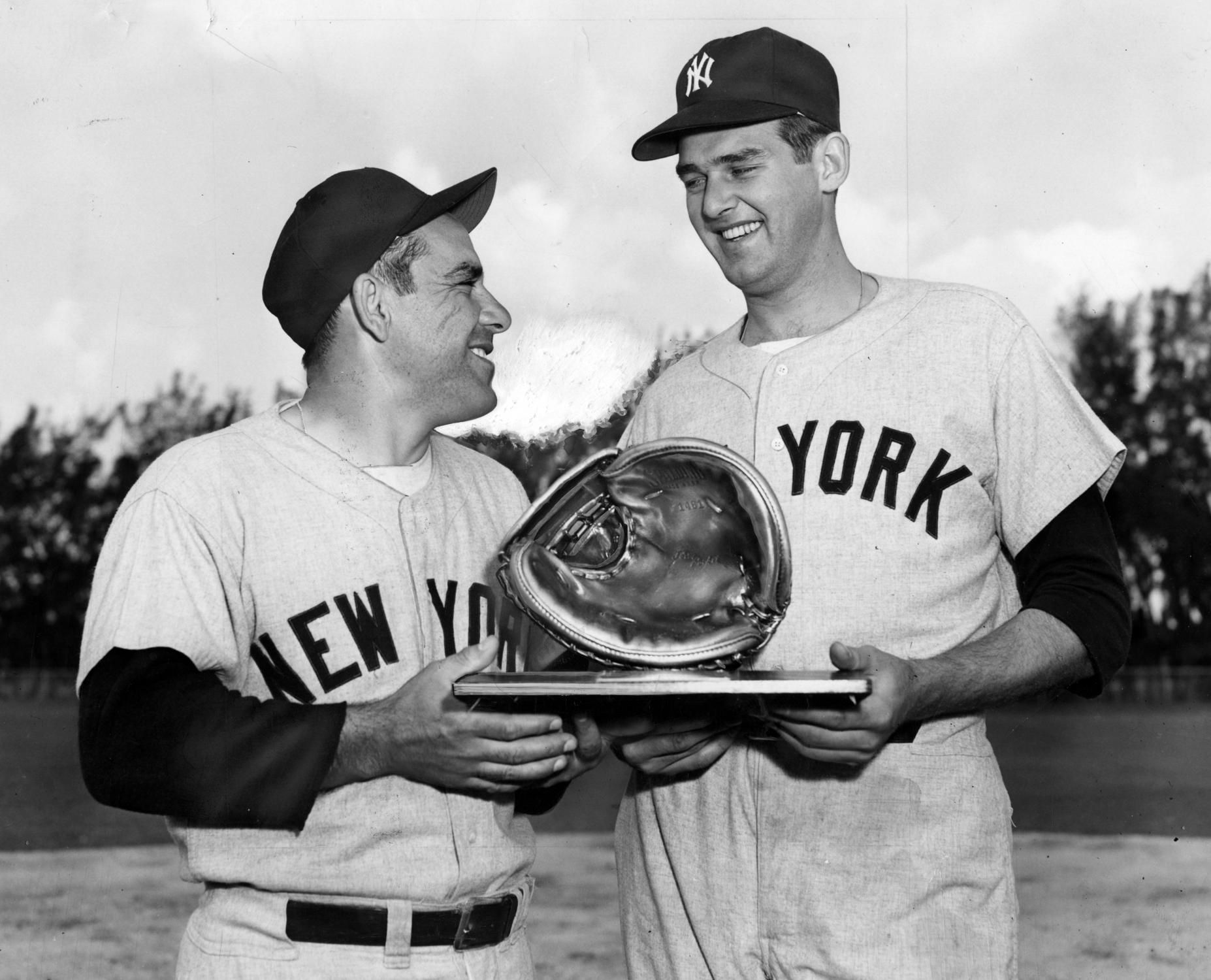 Don Larsen S Perfect Game On October 8 1956 In Game 5 Of The 1956 World Series Don Larsen Of The New York Yankees Don Larsen New York Yankees Perfect Game