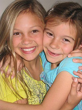 Olivia Holt with G Hannelius <3