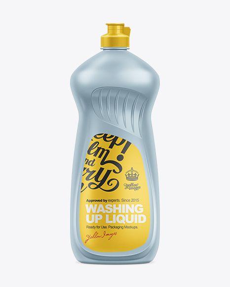 1l Dishwashing Liquid Bottle Mockup In Bottle Mockups On Yellow Images Object Mockups Bottle Mockup Mockup Free Psd Mockup Psd