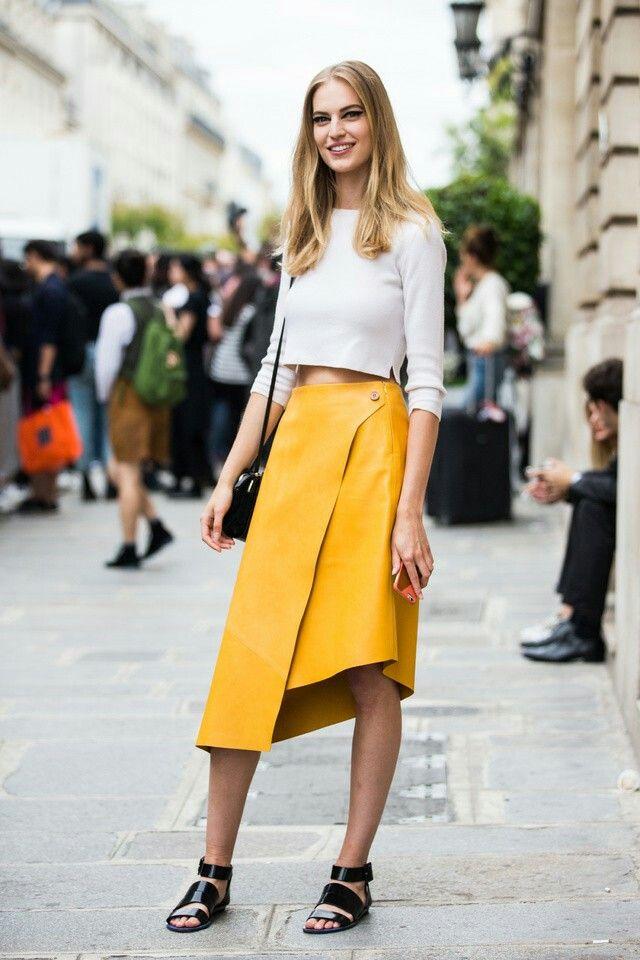 Асимметрические юбки 2020