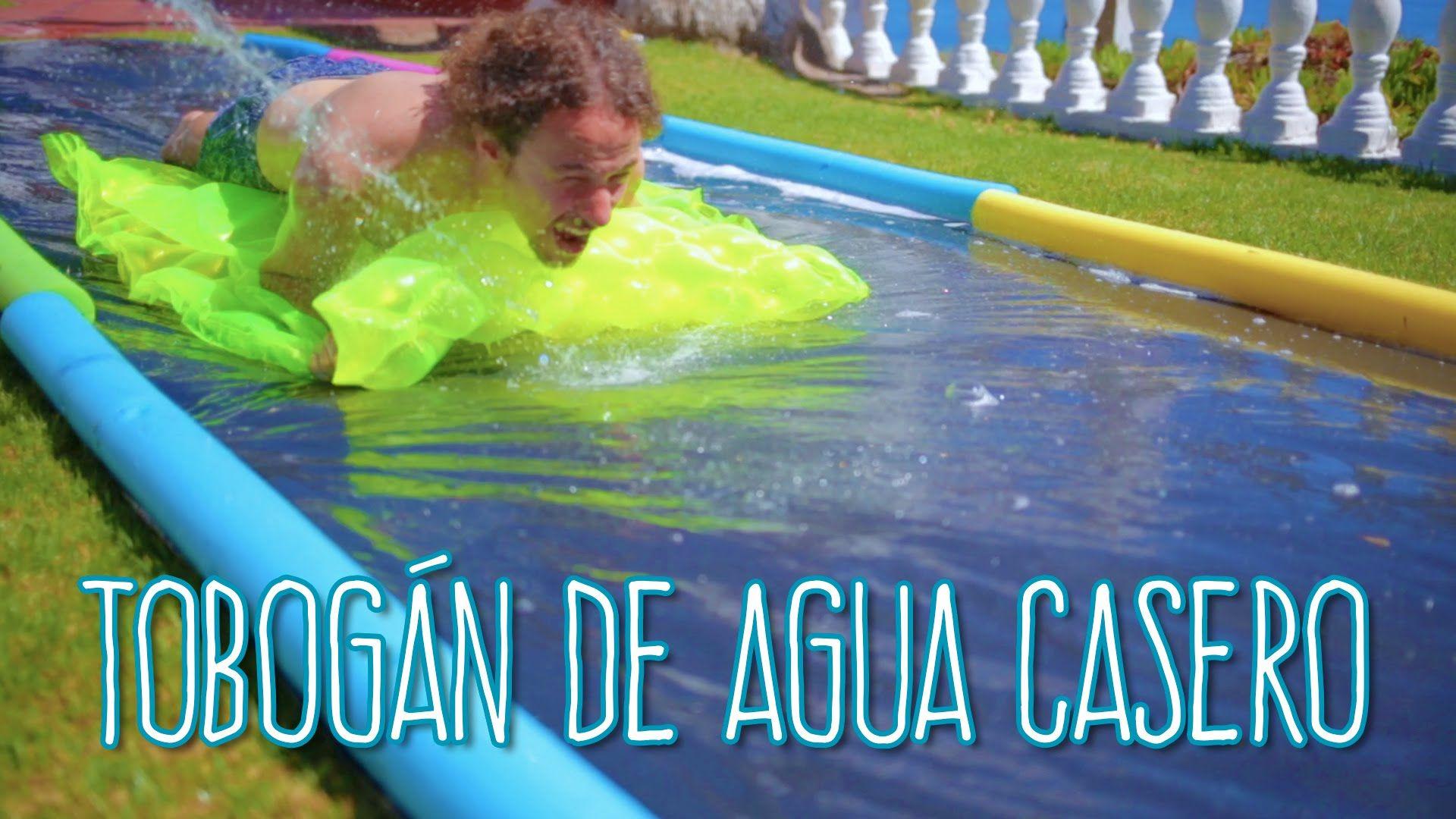 Tobogán de Agua Casero y Muy Divertido - Luisito Comunica - mitú ...