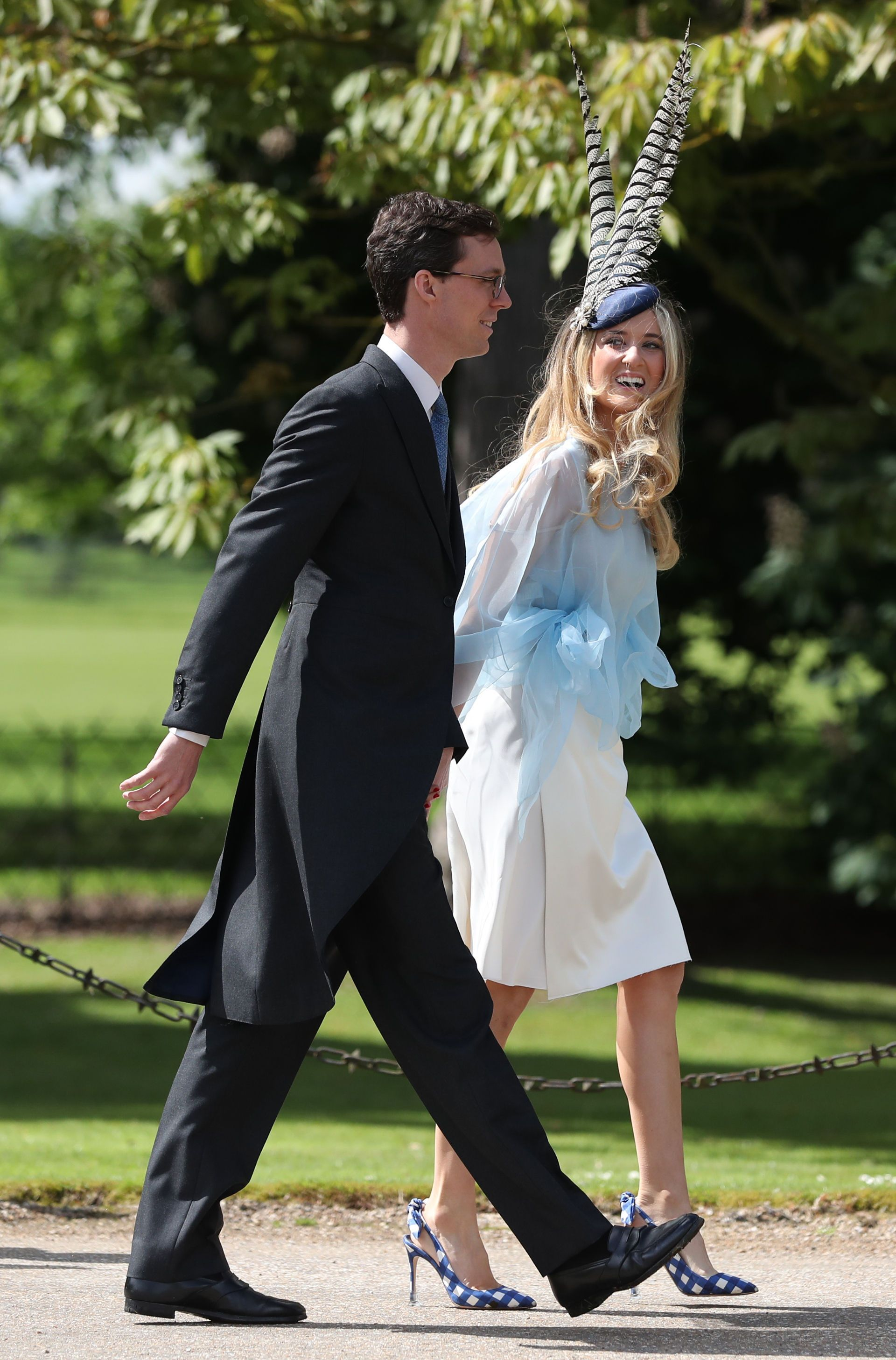 The Hats At Pippa Middletons Wedding Were Truly Out Of This World Insane