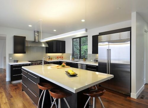 Kitchen Island With Seating At The End | How To Choose Seating For Your Kitchen  Island